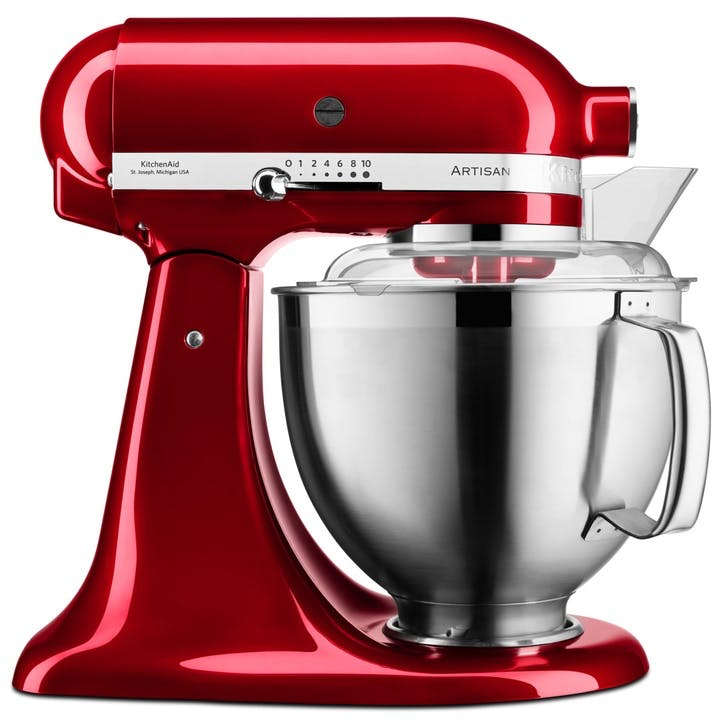 Artisan Stand Mixer with FREE Glass Mixing Bowl, 4.8L, Candy Apple