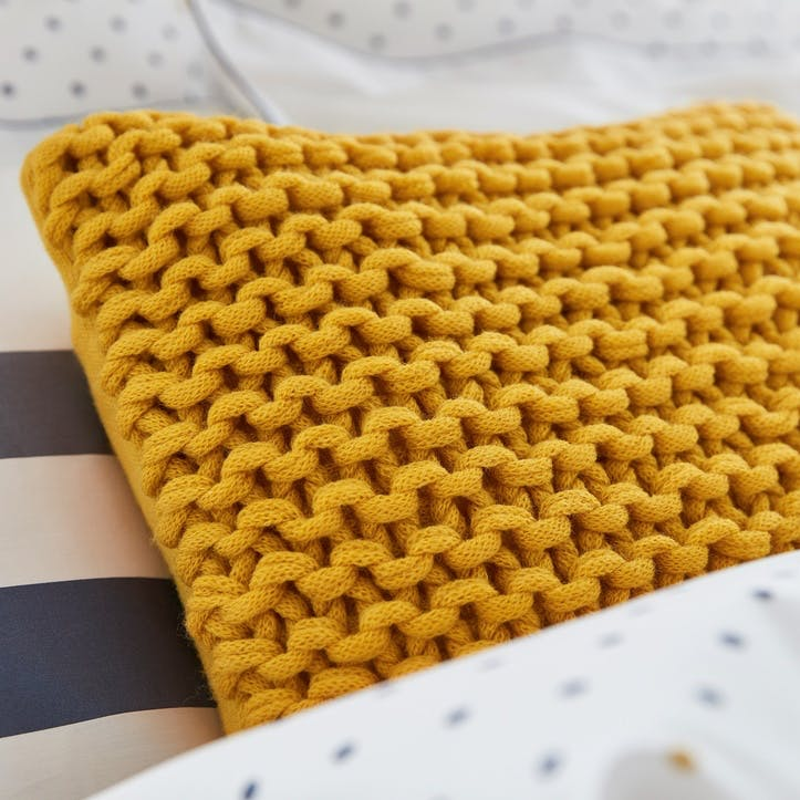 Galley Grade Knitted Cushion