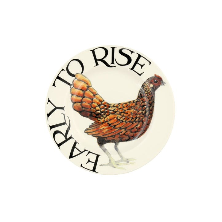 Rise & Shine Plate, 17cm