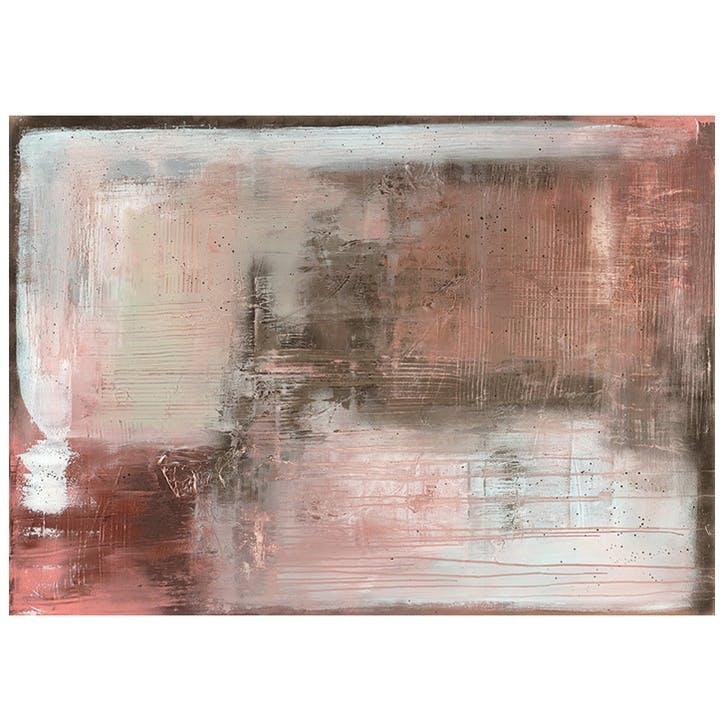 Soozy Barker Oriental Blush Canvas Print - 85 x 120cm