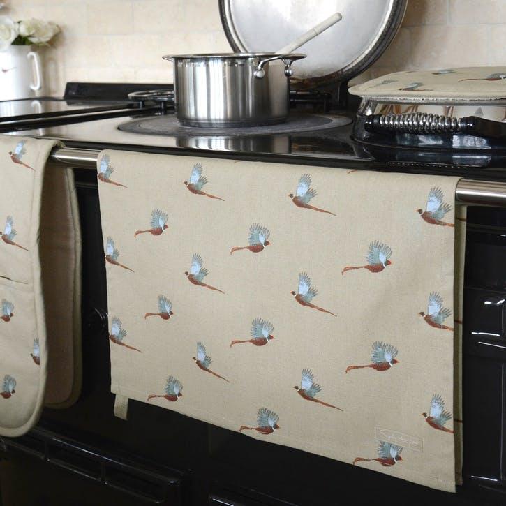 'Pheasant' Tea Towel