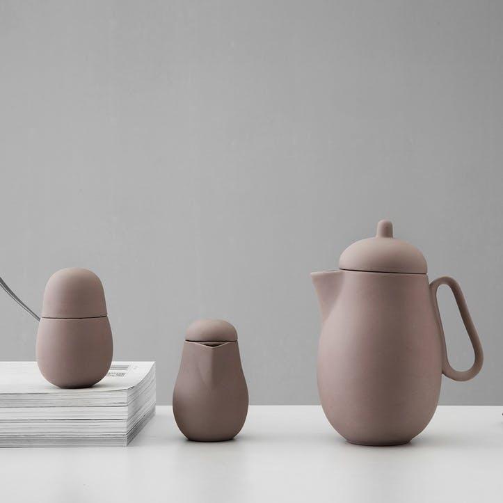 Nina Tea Set, Terracotta