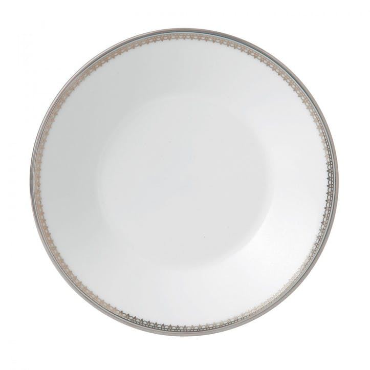 Lace Platinum Teacup Saucer