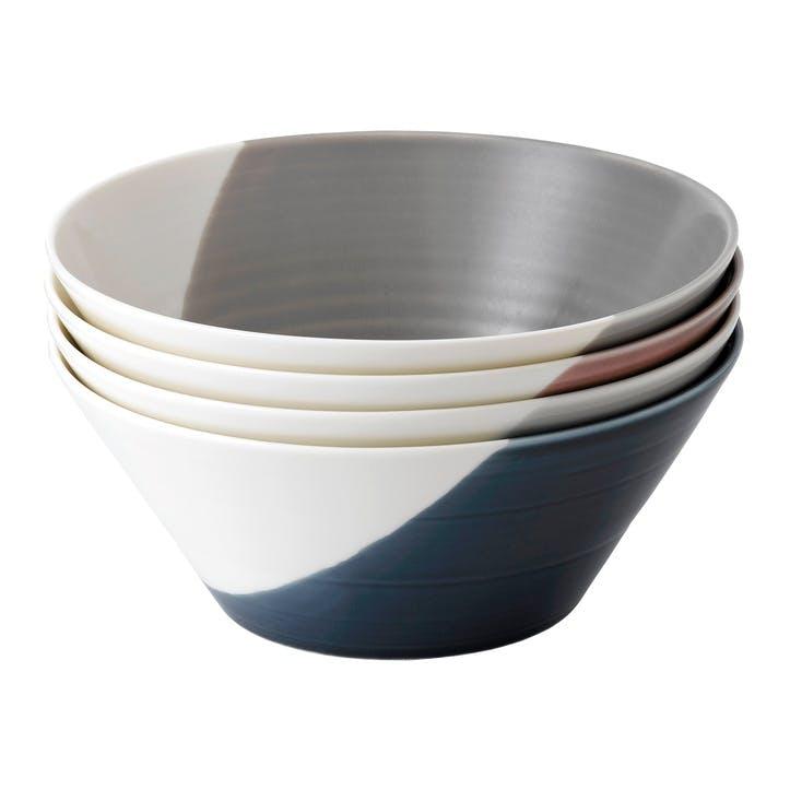 Bowls of Plenty Large Cereal Bowl, Set of 4