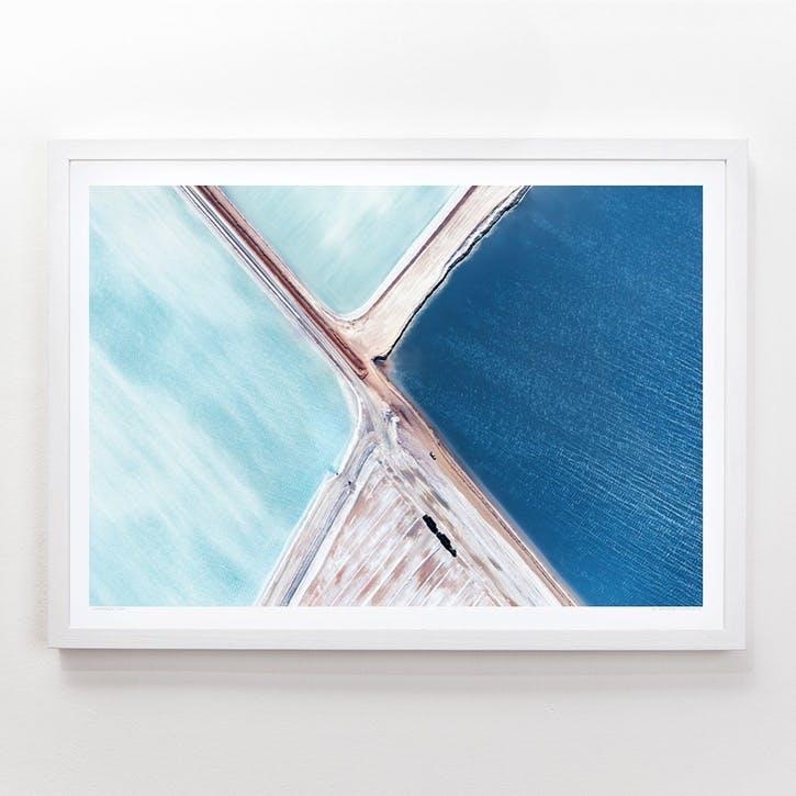 Blue Fields 5 Print, 42cm x 59.4cm