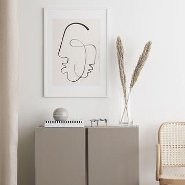 One Soul - LouLou Avenue Art print  D50cm x H70cm