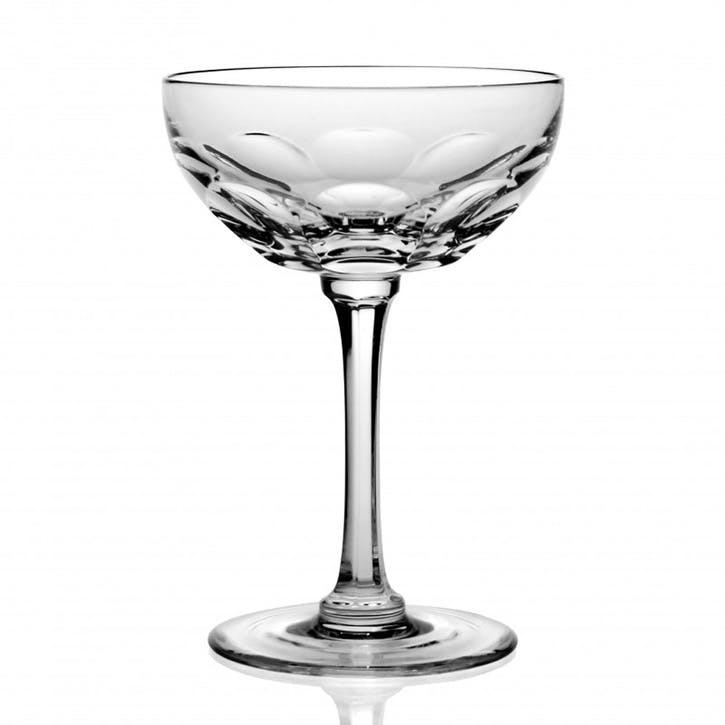 Davina  Champagne Coupe, Set Of 2