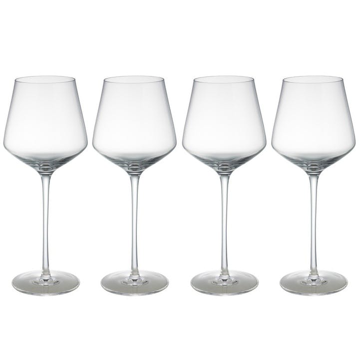 Hamburg White Wine Glass, Set of 4