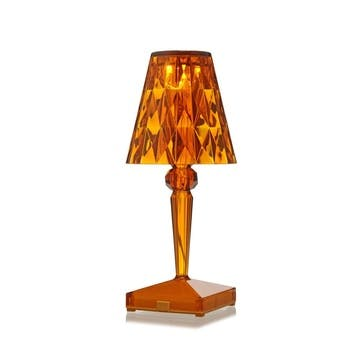 Battery, Table Lamp, Amber