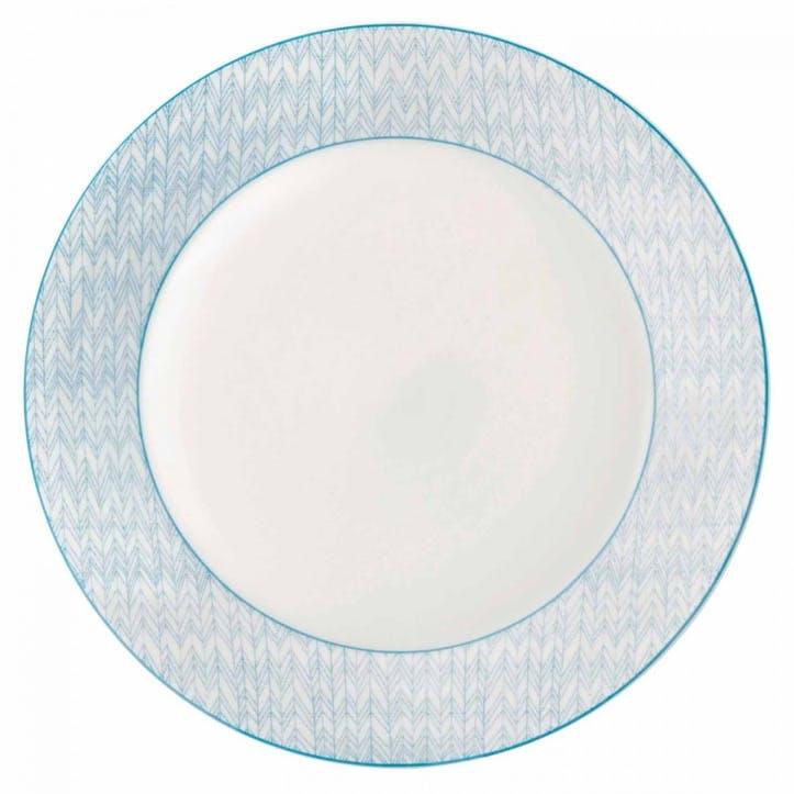 Pastels Herringbone Dinner Plate