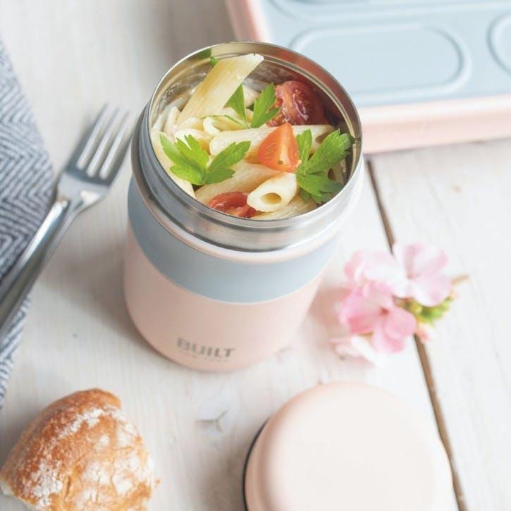 Food Flask, Pink