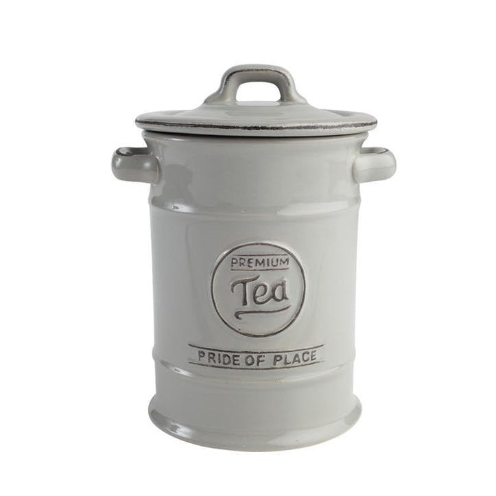 Pride of Place Tea Jar, Cool Grey