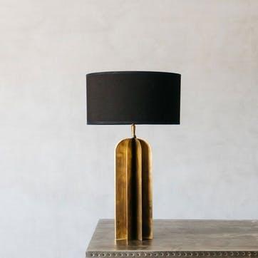 Metal Junction Table Lamp