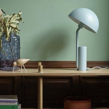 Cap Table Lamp D28 x H50cm Misty Blue