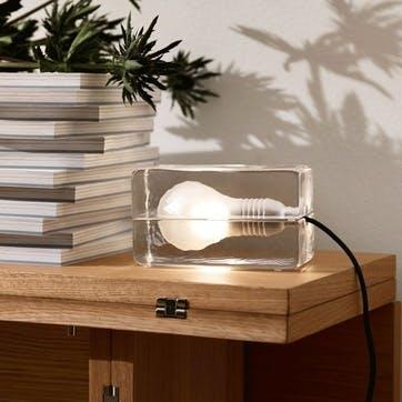 Block, Mini Lamp, Clear