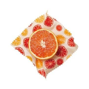 Citrus Beeswax Wrap, Set of 2