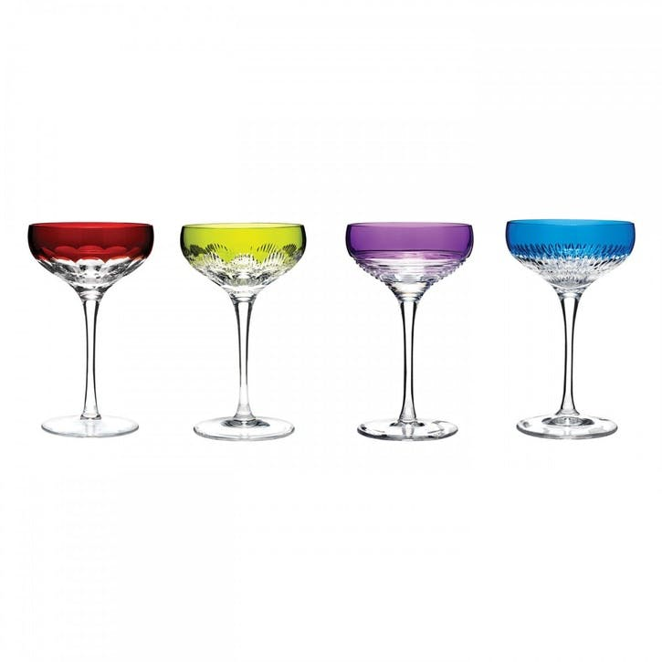 Waterford Mixology Champagne Coupe, Set of 4, Multi