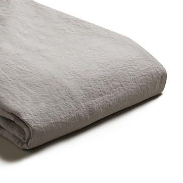 Complete Bedding Bundle Super King Set Dove Grey