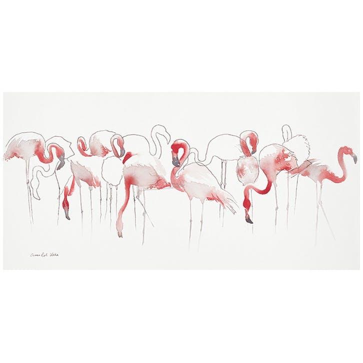 Aimee Del Valle Toute en Rose Canvas Print - 30 x 60cm
