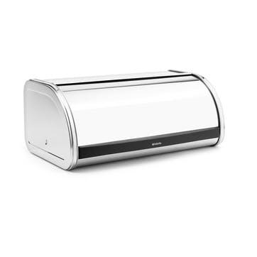 Roll Top Bread Bin, Brilliant Steel