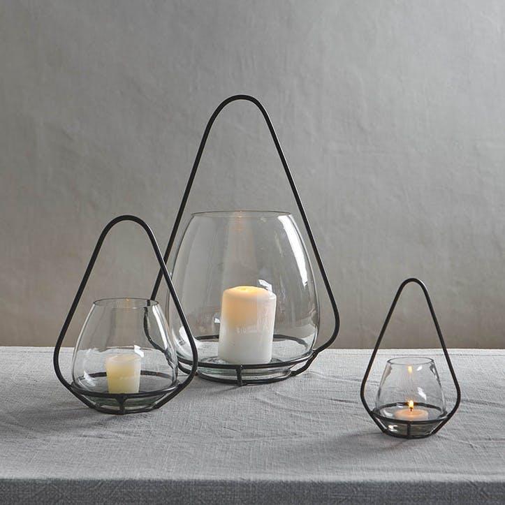 Keeto Glass T-Light, Large