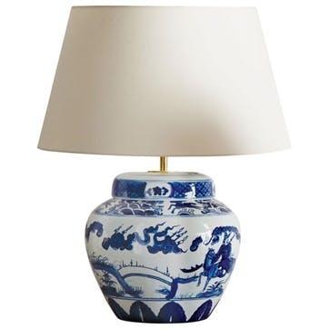Kraakware Ceramic Table Lamp