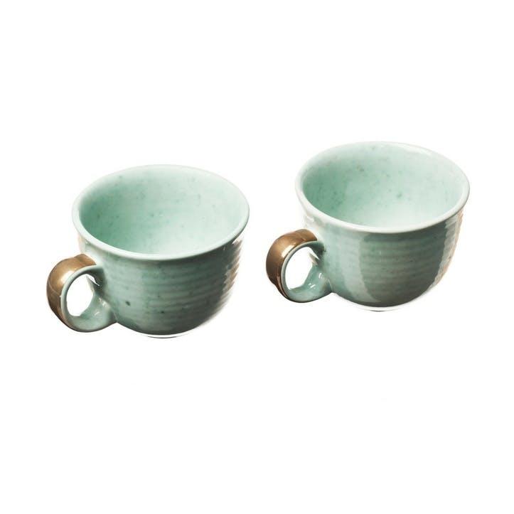 Stoneware Coffee Mug, Set of 2