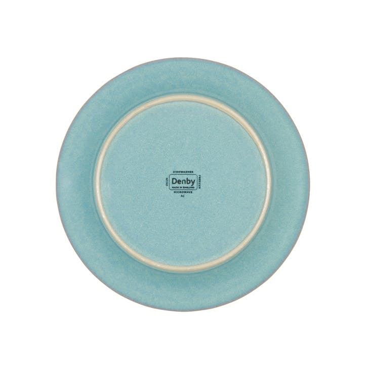 Azure Small Plate, 18.5cm, Blue