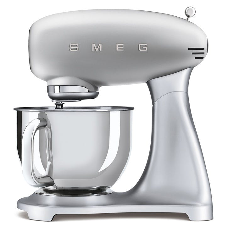 50's Style Stand Mixer, Silver