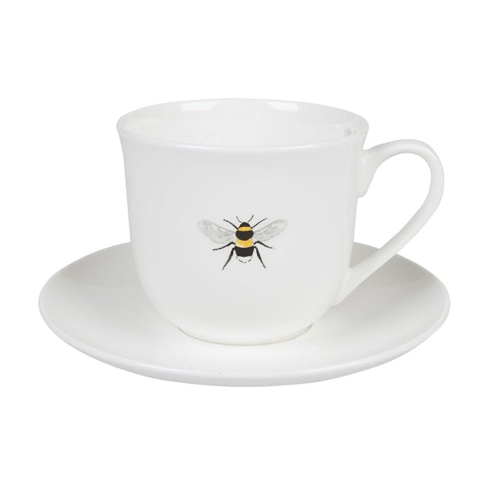 'Bees' Teacup & Saucer, Small