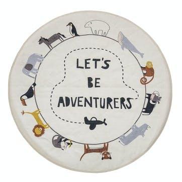 'Let's Be Adventurers' Rug