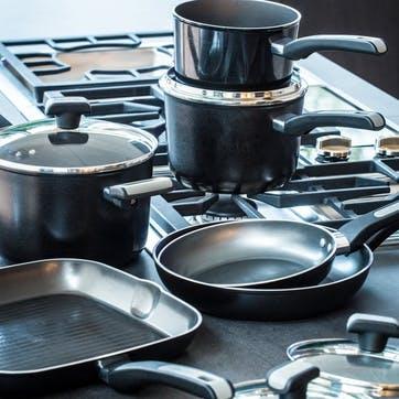 Dura Forge Non-Stick Square Grill Pan, 28cm