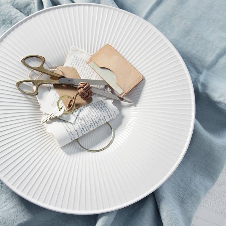 Hammershøi Dish, 40cm, White