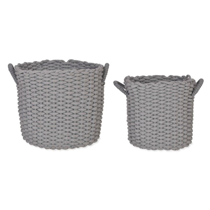 Chesil Round Baskets, Set of 2