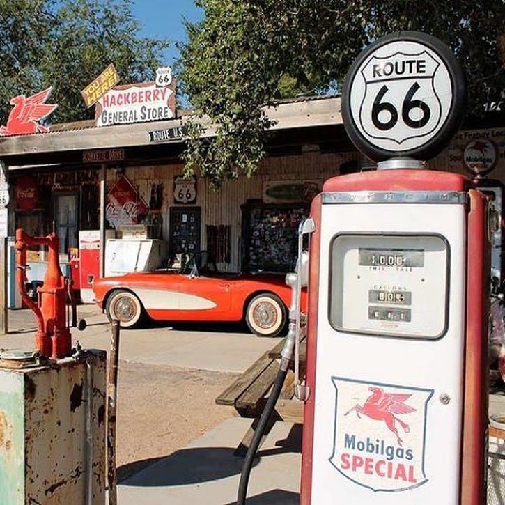 Honeymoon on Route 66 Supply Stop