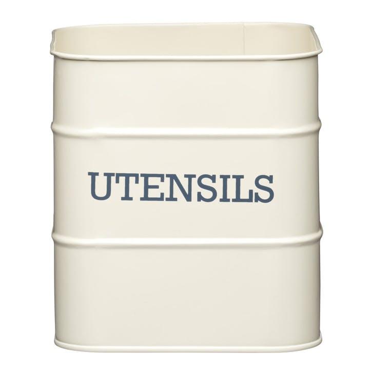Living Nostalgia Utensil Pot in Antique Cream
