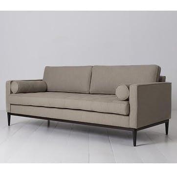 3 Seater Sofa, Model 02, Pumice