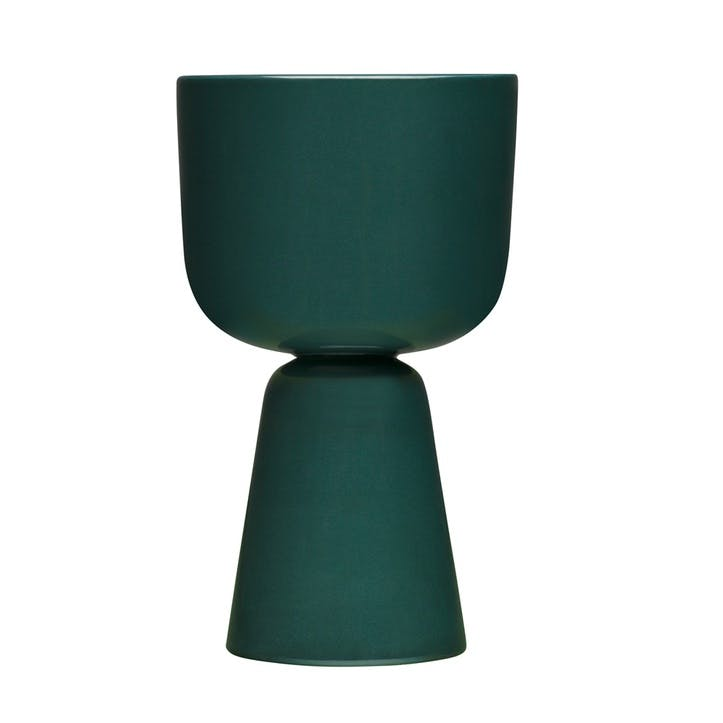 Nappula Plant Pot, Dark Green, Large