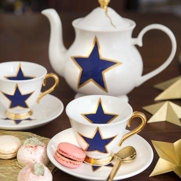 Lucky Stars Teapot, 6 Cup