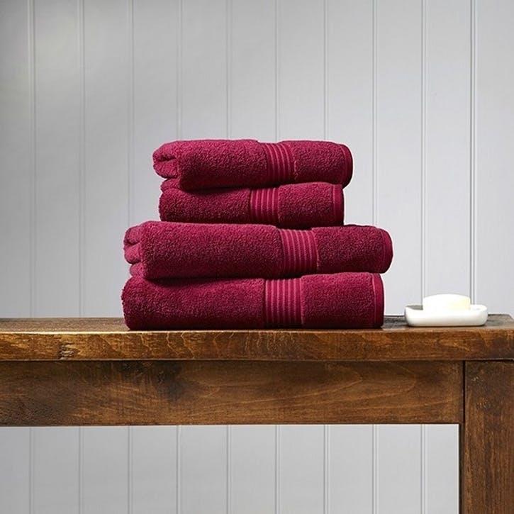 Supreme Supima Hygro Raspberry Hand Towel