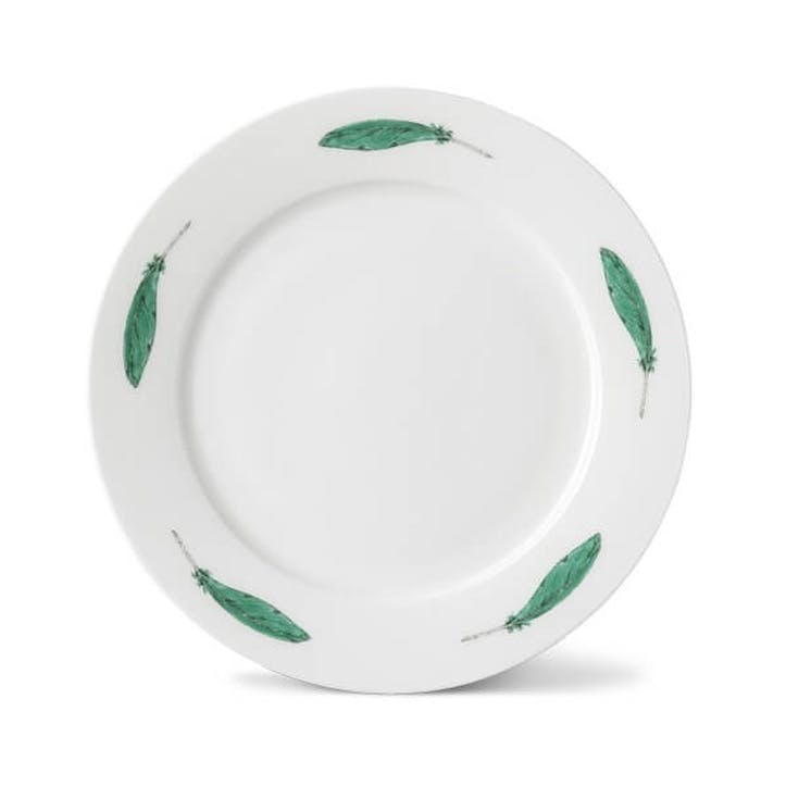 Parakeet Feather Side Plate