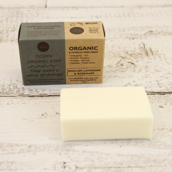 Ocean Organic Lavender & Rosemary Soap