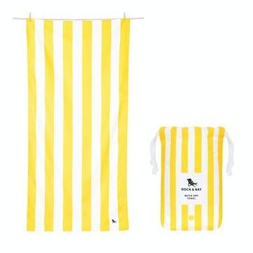 Cabana Beach Towel, Boracay Yellow, Extra Large