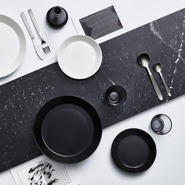 Teema Plate, Black, 17cm