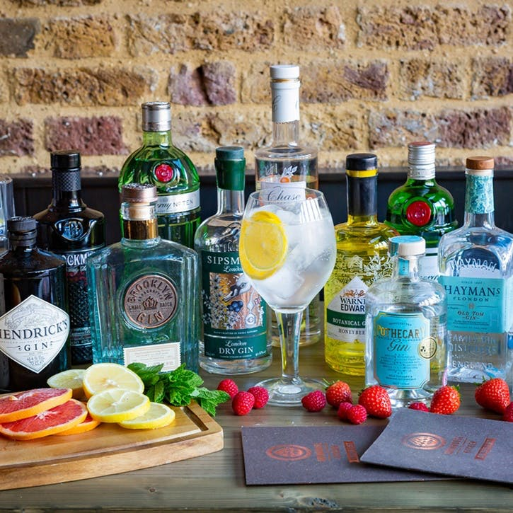 Gin Lover's Masterclass with Tastings for Two