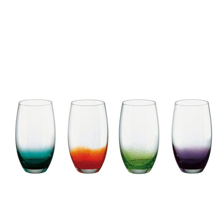 Fizz Set of 4 Hiball Tumblers