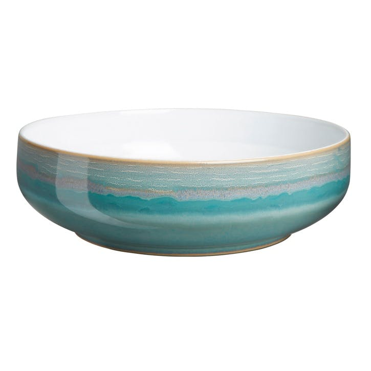 Azure Coast Serving Bowl, 24.5cm, Blue