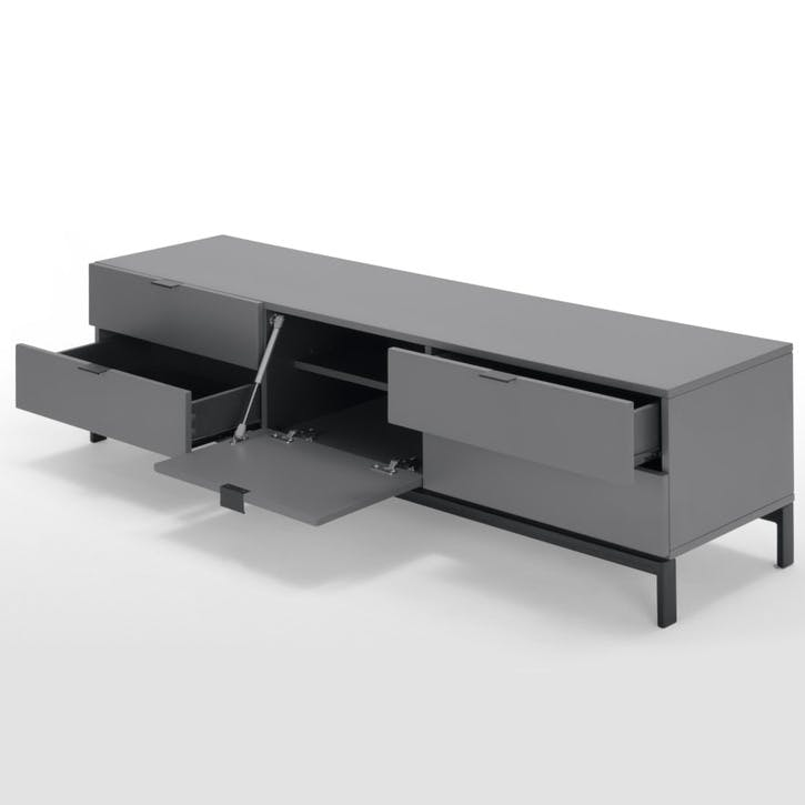 Marcell Large Media Unit, Grey