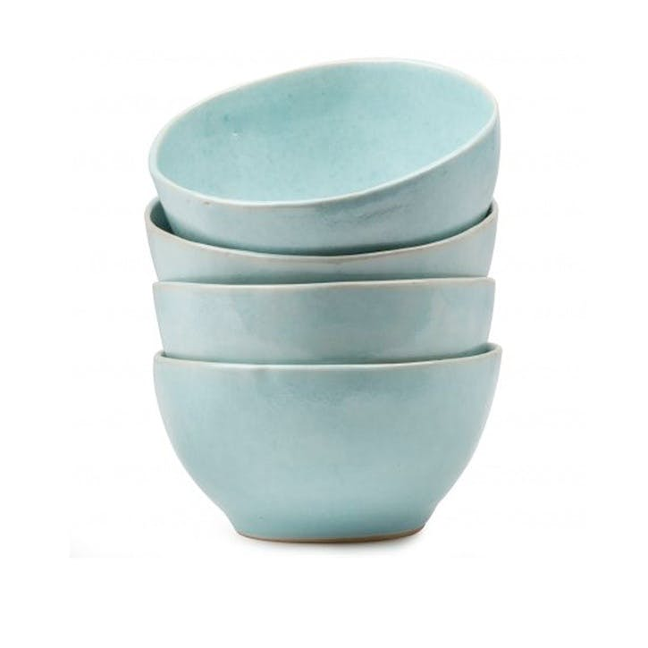 Mervyn Gers Teal Small Bowl, 19cm