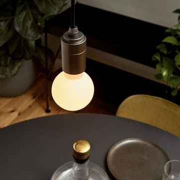 Sphere Medium Sphere LED G75 bulb H10 x W8cm Clear